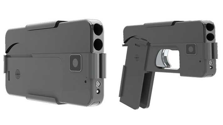 Cuidado al ver personas con iPhone en la mano: pueden resultar se una pistola