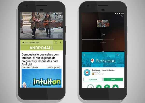 """Periscope para Android añade el modo """"multiventana"""" en su última actualización"""
