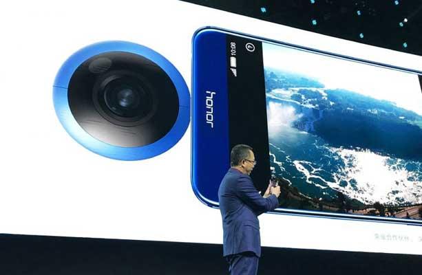 Huawei presenta cámara de 360 grados para móviles