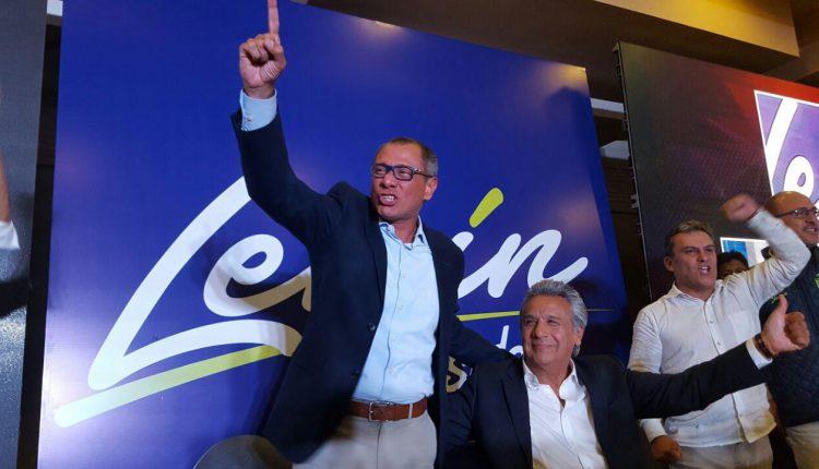 Ecuador decide:  En Ecuador Lenín Moreno con 42,9%, gana las eleciones
