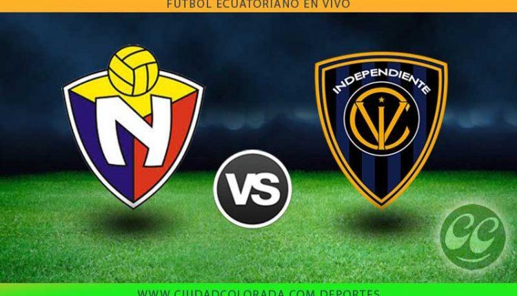 El Nacional vs Independiente mira en vivo