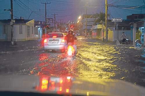 Lluvias en Santo Domingo de los Tsachilas estan bajo control