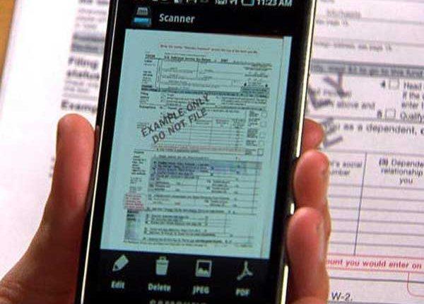 Cinco 'apps' para escanear y editar documentos con el móvil