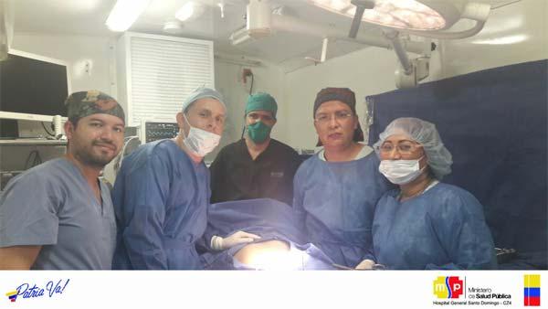 El Hospital General de Santo Domingo realiza cirugías de mínima invasión