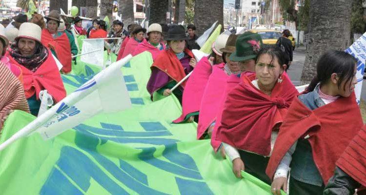 Organizaciones de base y líderes históricos se rebelan contra la Conaie
