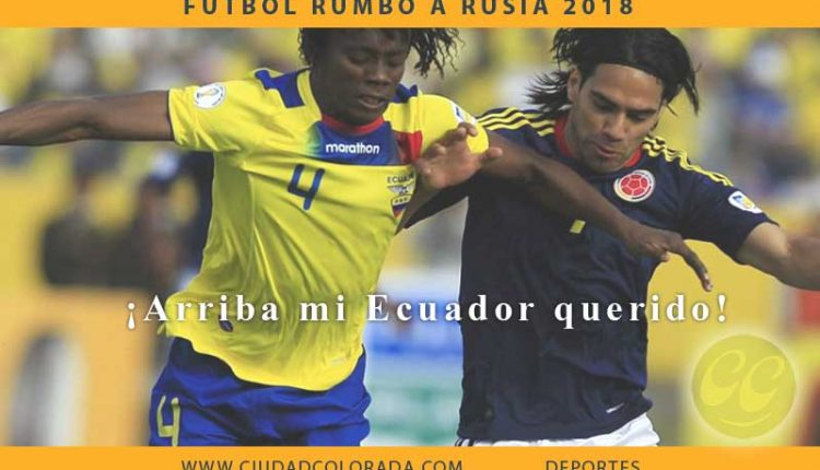 Ecuador vs Colombia En vivo Online por Eliminatorias Rusia 2018