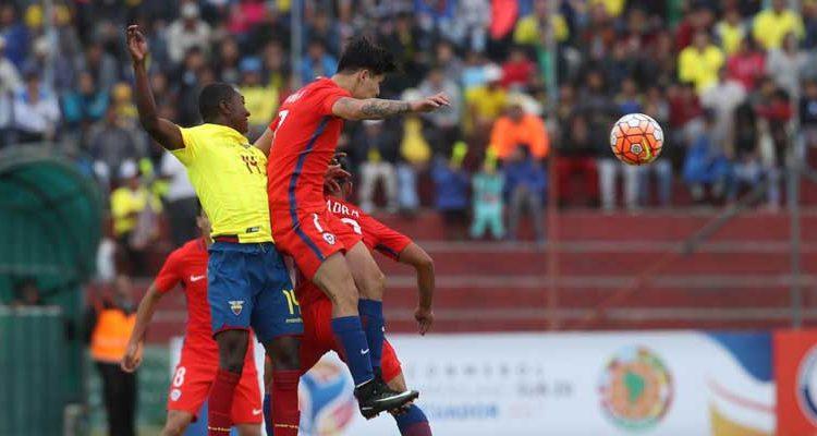 El horario del partido de la Roja ante Ecuador en el Sudamericano sub 17