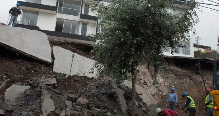 Lluvias en Quito causaron 326 emergencias desde octubre de 2016