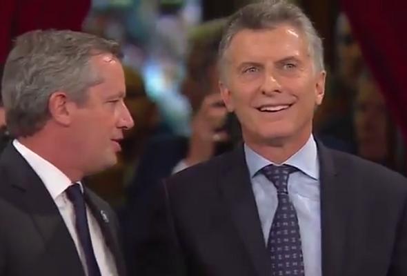 Mauricio Macri llamó desubicada a una legisladora en plena Asamblea