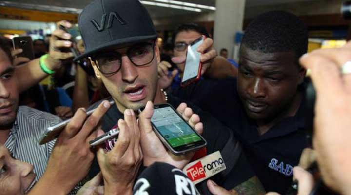 """Se terminó la espera, Nahuelpán: """"Vengo por darle más alegría a la gente y muchos goles"""""""
