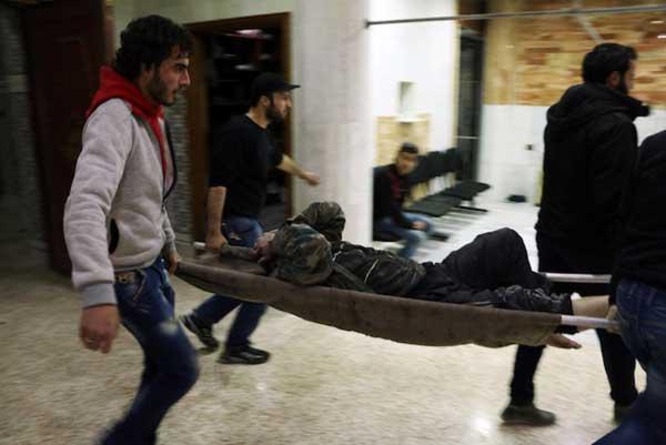 """Indignación internacional por ataque """"químico"""" en Siria"""