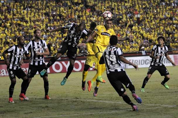 Barcelona SC igualó 1-1 con Botafogo en la Copa Libertadores