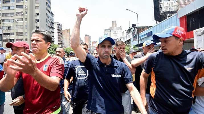Venezuela captura a terrorista financiado por partido de Capriles