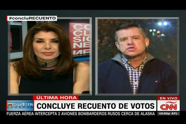 """Páez no pudo comprobar supuesto """"fraude"""" ante cadena internacional"""