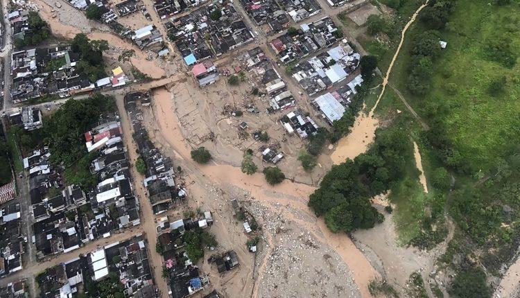 Tragedia en Colombia: una avalancha dejó al menos 206 muertos, 202 heridos y 220 desaparecidos