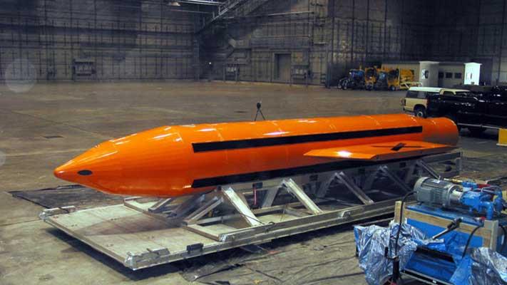Estados Unidos lanza a Afganistán una de su más poderosa bomba no nuclear