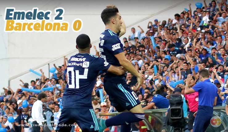 Emelec 2 Barcelona 0