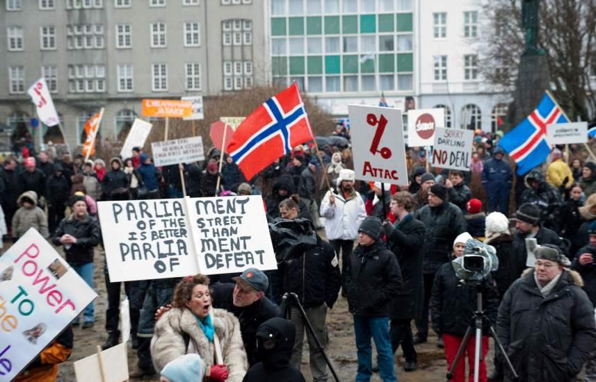 Islandia sale de la crisis
