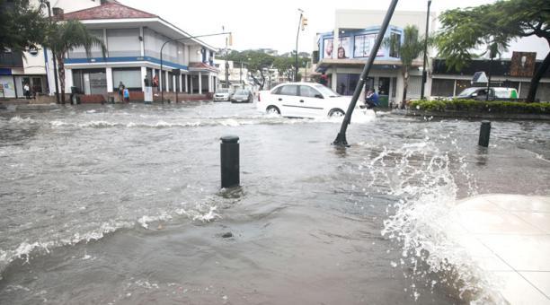 Lluvias Ecuador