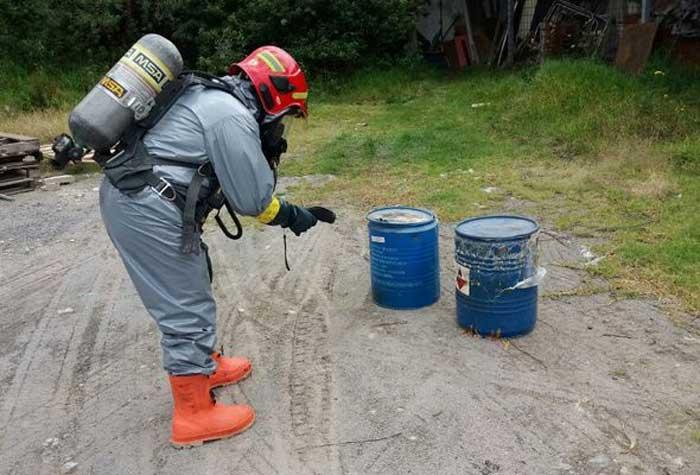 Contaminación Química en Quito