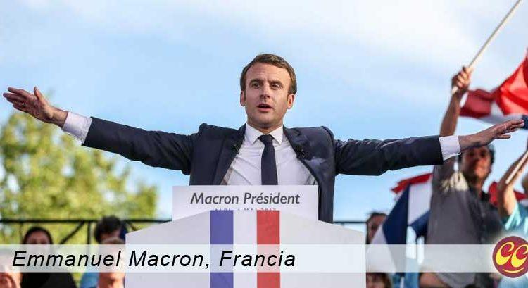 Emmanuel Macron Nuevo presidente de Francia