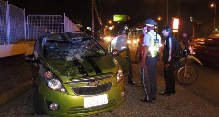 Accidente de tránsito en Guayaquil