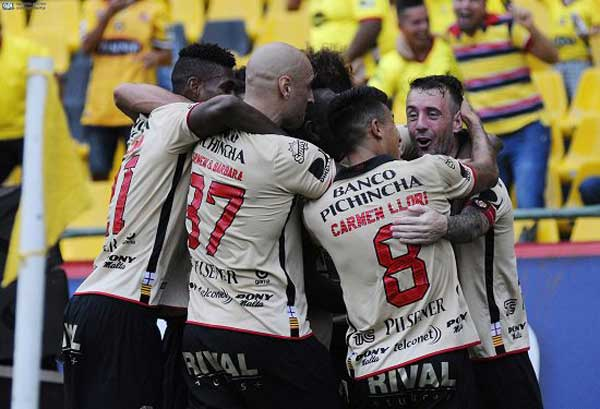 Barcelona SC derrota a Independiente 2-1