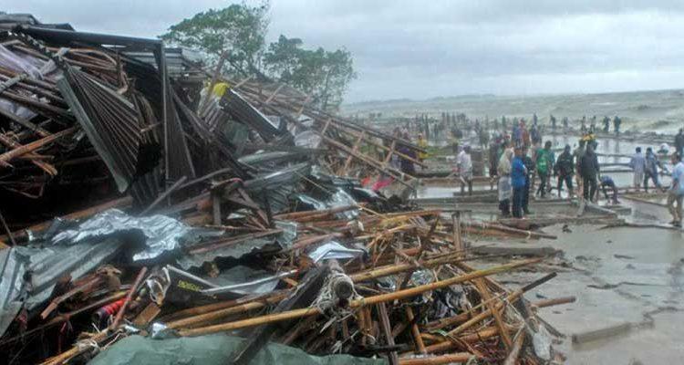 Ciclón en Bangladés