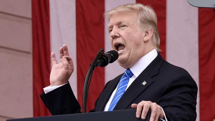 Donald Trump saca a EEUU del acuerdo climático de París