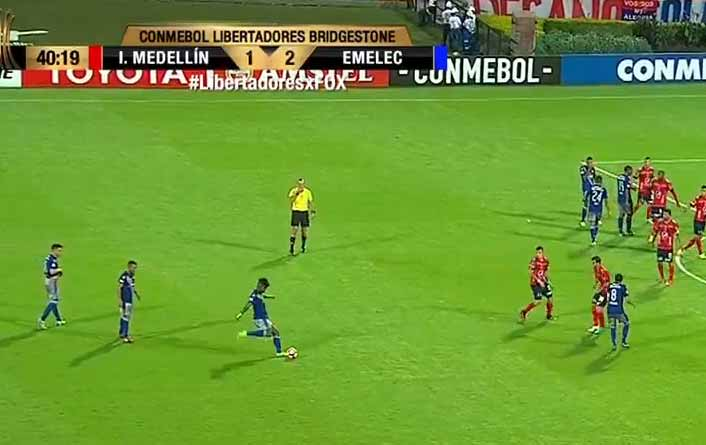 Gol anulado de Emelec