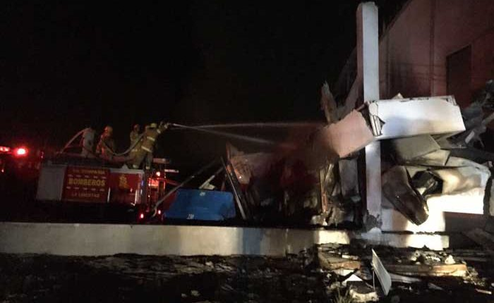 Incendio en Chanduy Santa Elena