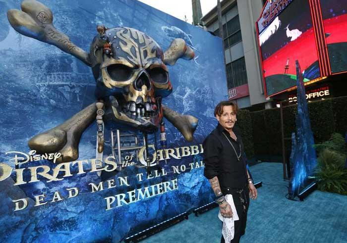 Piratas del Caribe la venganza de Salazar