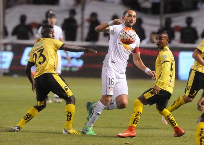 Liga de Quito empata ante Fuerza Amarilla
