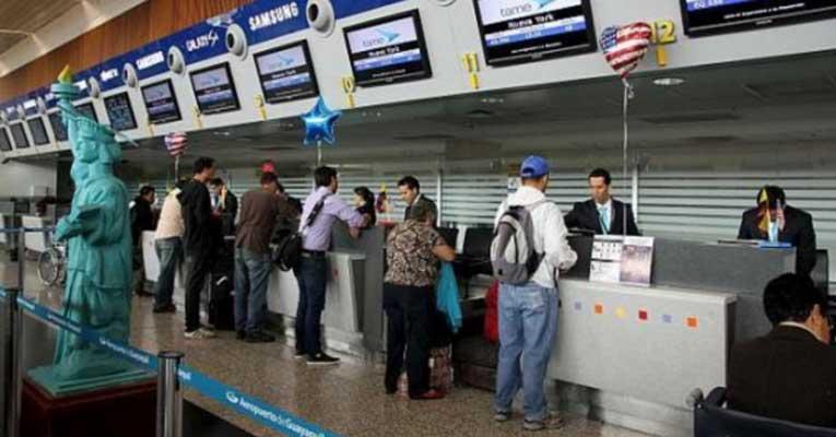 Ecuador añade lista de objetos personales que podría llevar en el equipaje