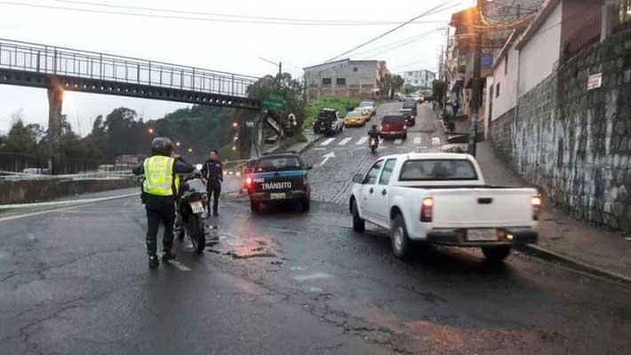 Lluvias en Quito