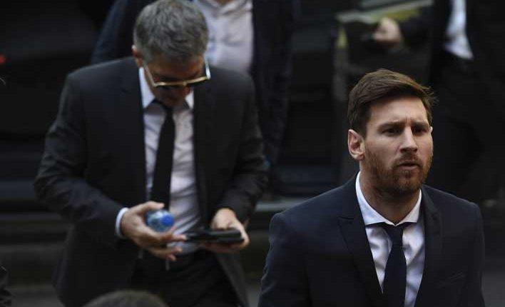 21 meses de cárcel para Messi