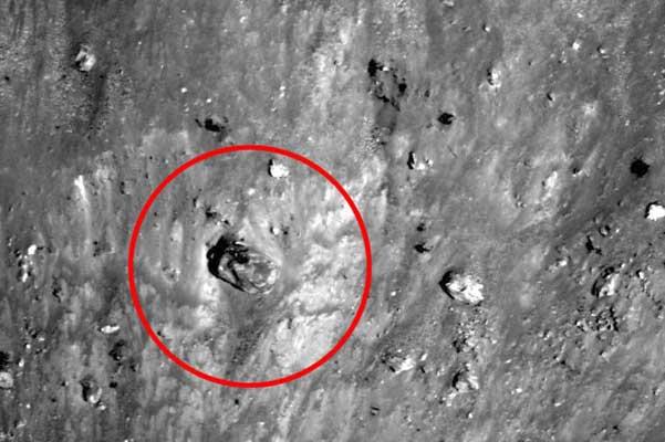 Un tanque en la Luna
