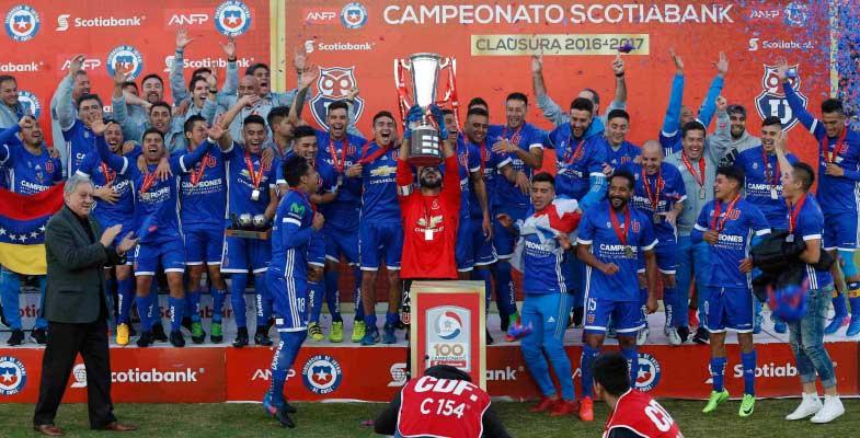 Universidad de Chile campeón