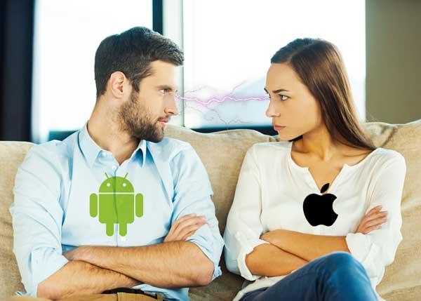 iOS falla más que Android