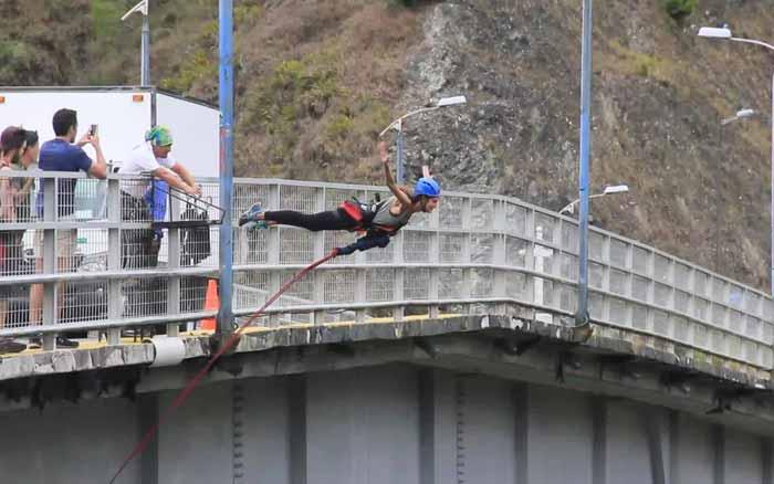 Accidente en Baños - Tungurahua