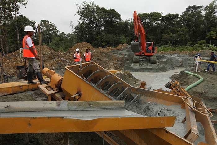 Actividades mineras se ejecutan en el país