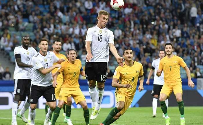 Alemania vence a Australia por 3-2 por Copa Confederaciones