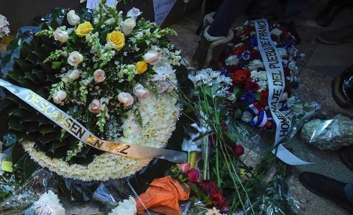 Francesa víctima de atentado en Bogotá