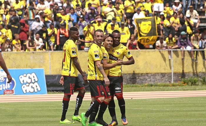 Barcelona SC golea a El Nacional en Quito