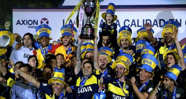 Boca Juniors celebra título