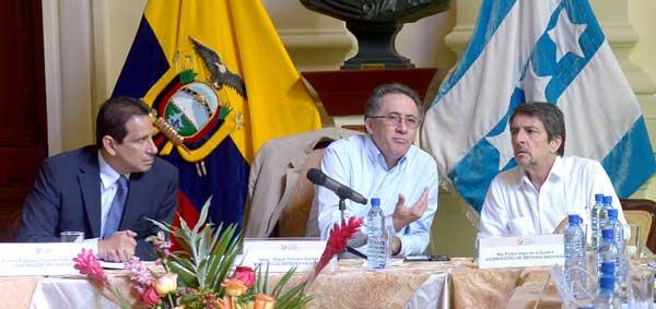 Consejo sectorial de seguridad en Guayaquil