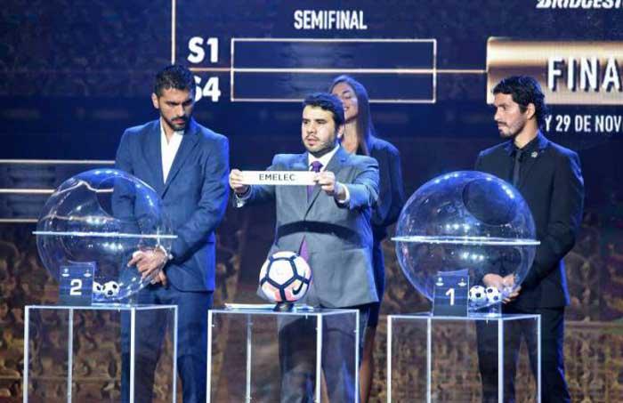 Copa Libertadores Barcelona SC y Emelec