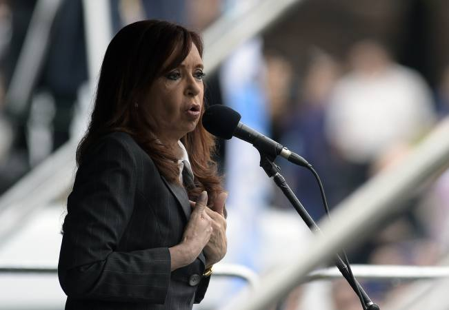 Cristina Fernández candidata a senadora