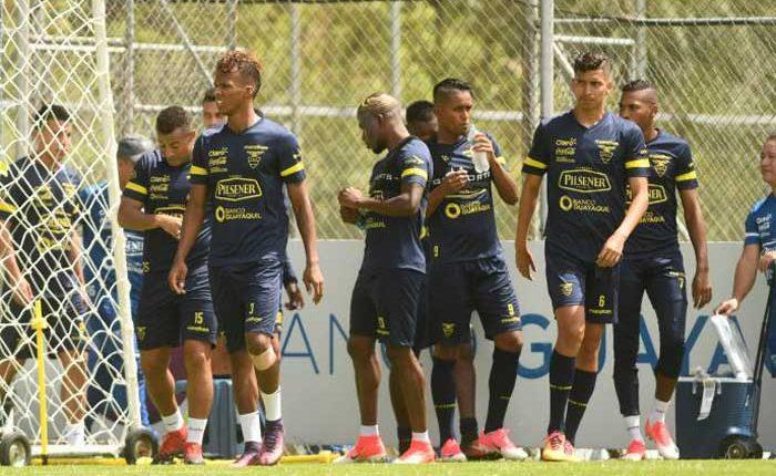 Ecuador vs Venezuela partido amistoso