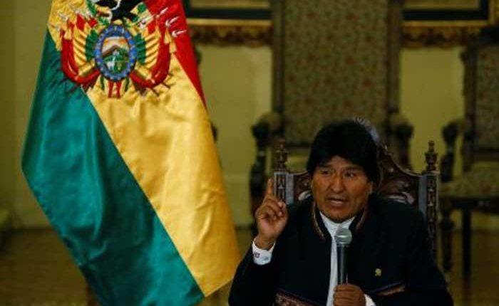 Pida disculpas por dar golpes de Estado le habla Evo Morales a Donald Trump
